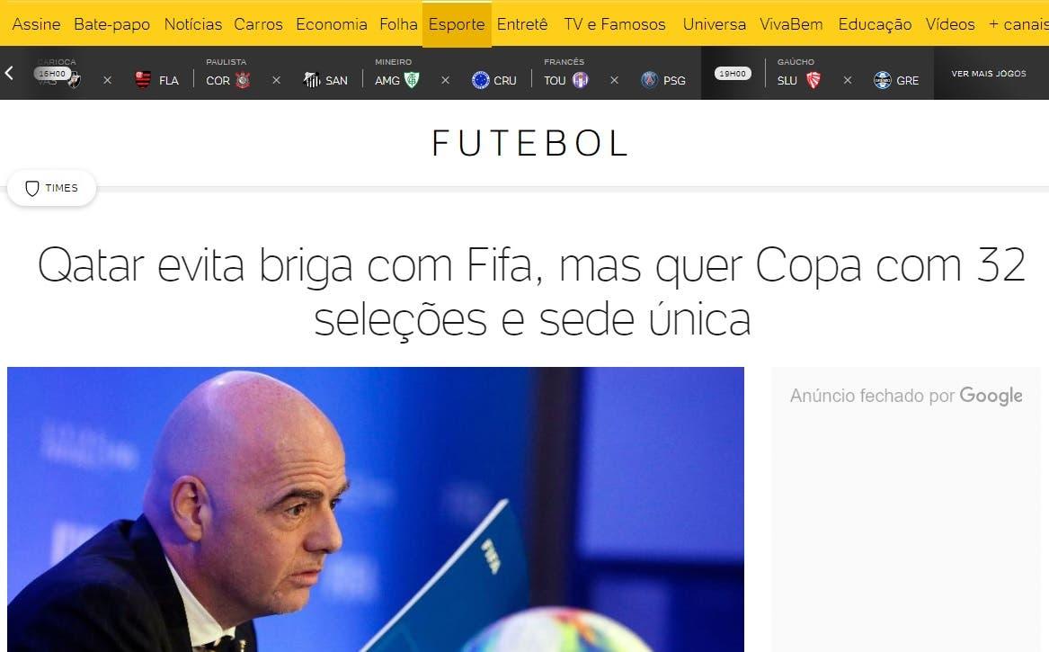 صورة ضوئية للتقرير البرازيلي