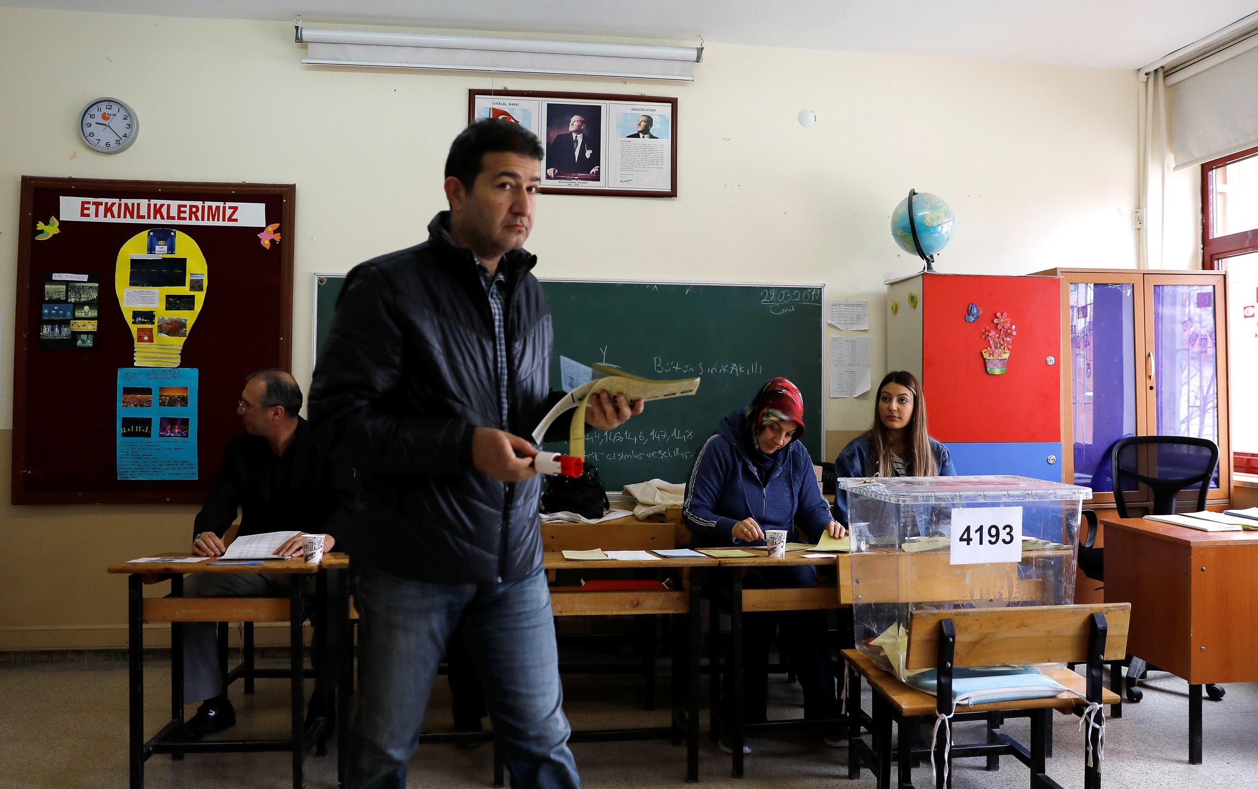 الانتخابات التركية (رويترز- أرشيفية)