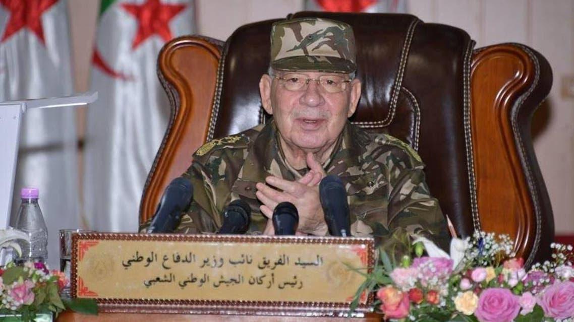 Army cheif of Aljazair Ahamd Qaid Saleh