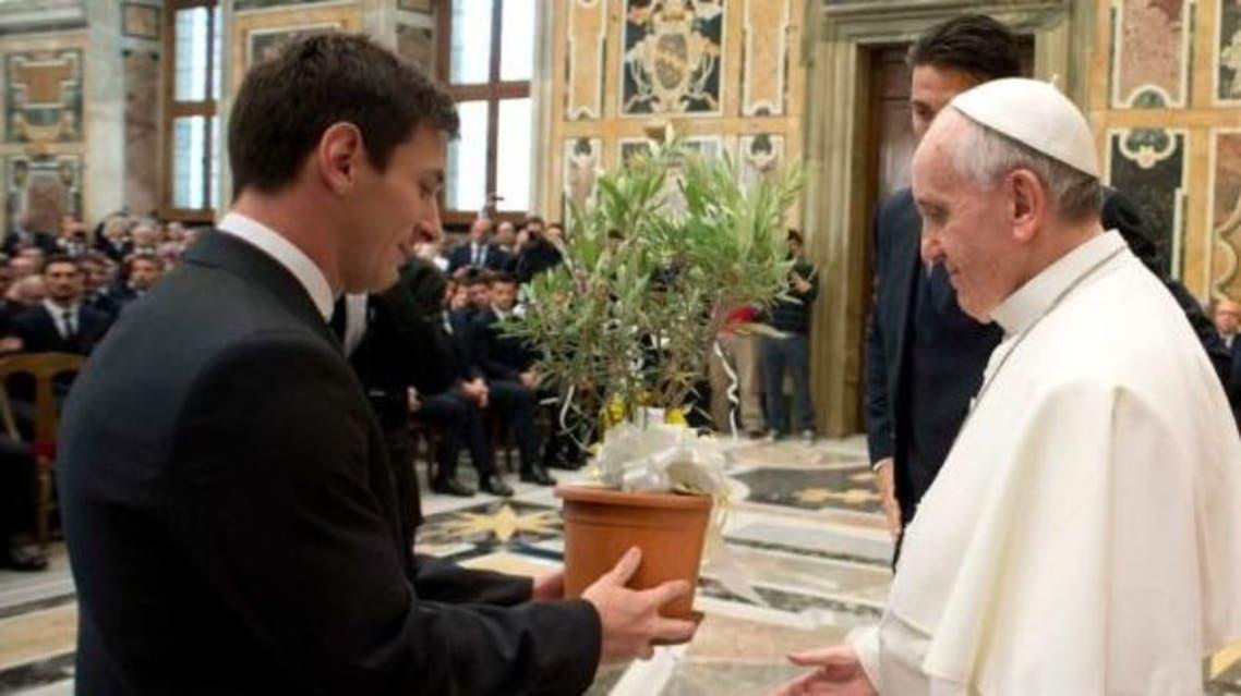 البابا وميسي