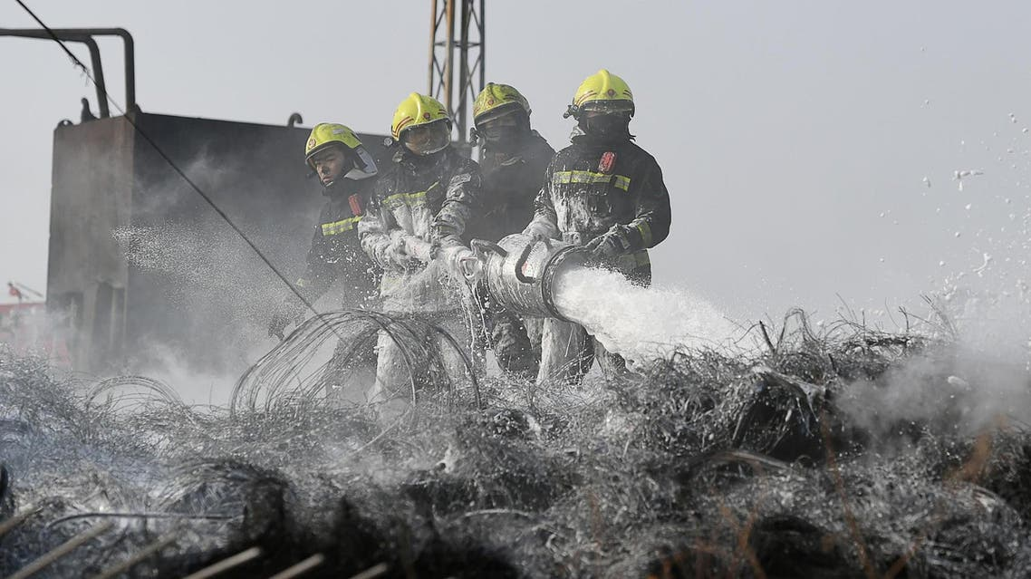 At least 24 people died after firefighters were sent to combat a forest blaze in remote mountains in southwest China. (File photo: AFP)