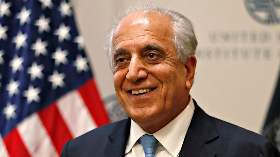 Special Representative for Afghanistan Reconciliation Zalmay Khalilzad pictured at the US Institute of Peace in Washington. (File photo: AP)