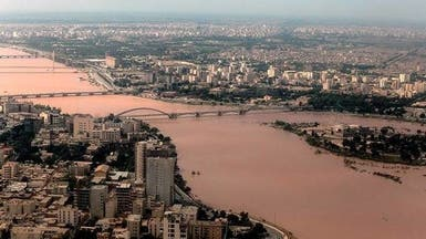 فيضانات إيران مستمرة وإخلاء عشرات القرى في الأهواز