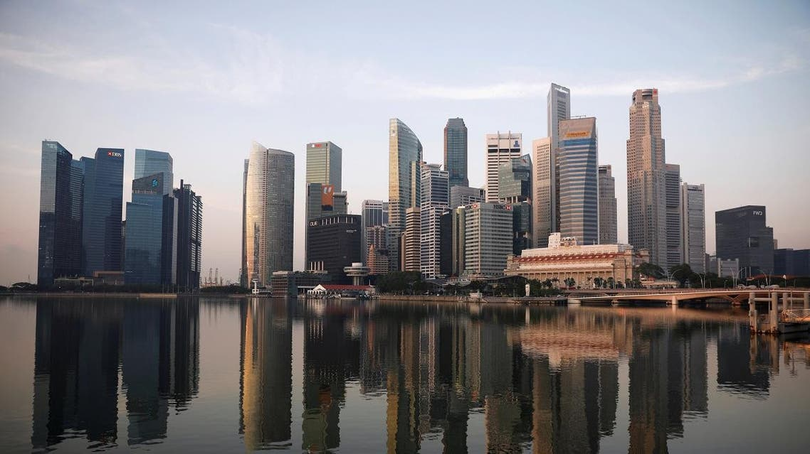 A view of the skyline of Singapore. (Reuters)