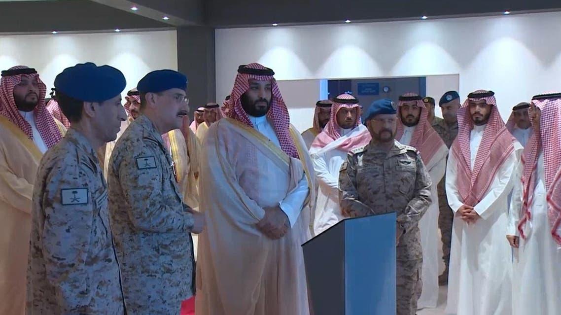 Saudi Crown Prince lays foundation for Air Warfare Center
