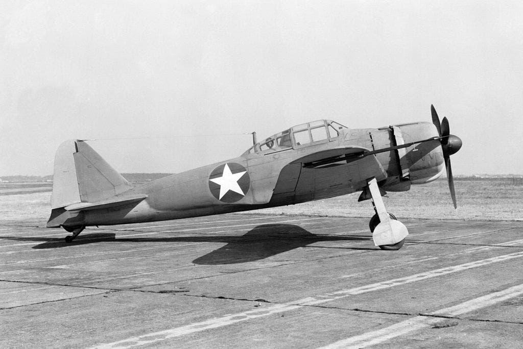 صورة لطائرة زيرو عقب إصلاحها من قبل الأميركيين