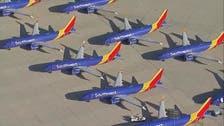إجراء اختبارات على محركات طائرة بوينغ 737 ماكس