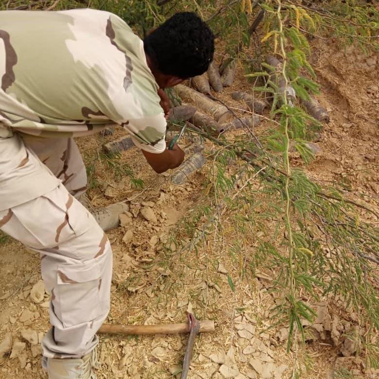 اليمن.. ضبط 80 طناً من متفجرات تنظيم القاعدة