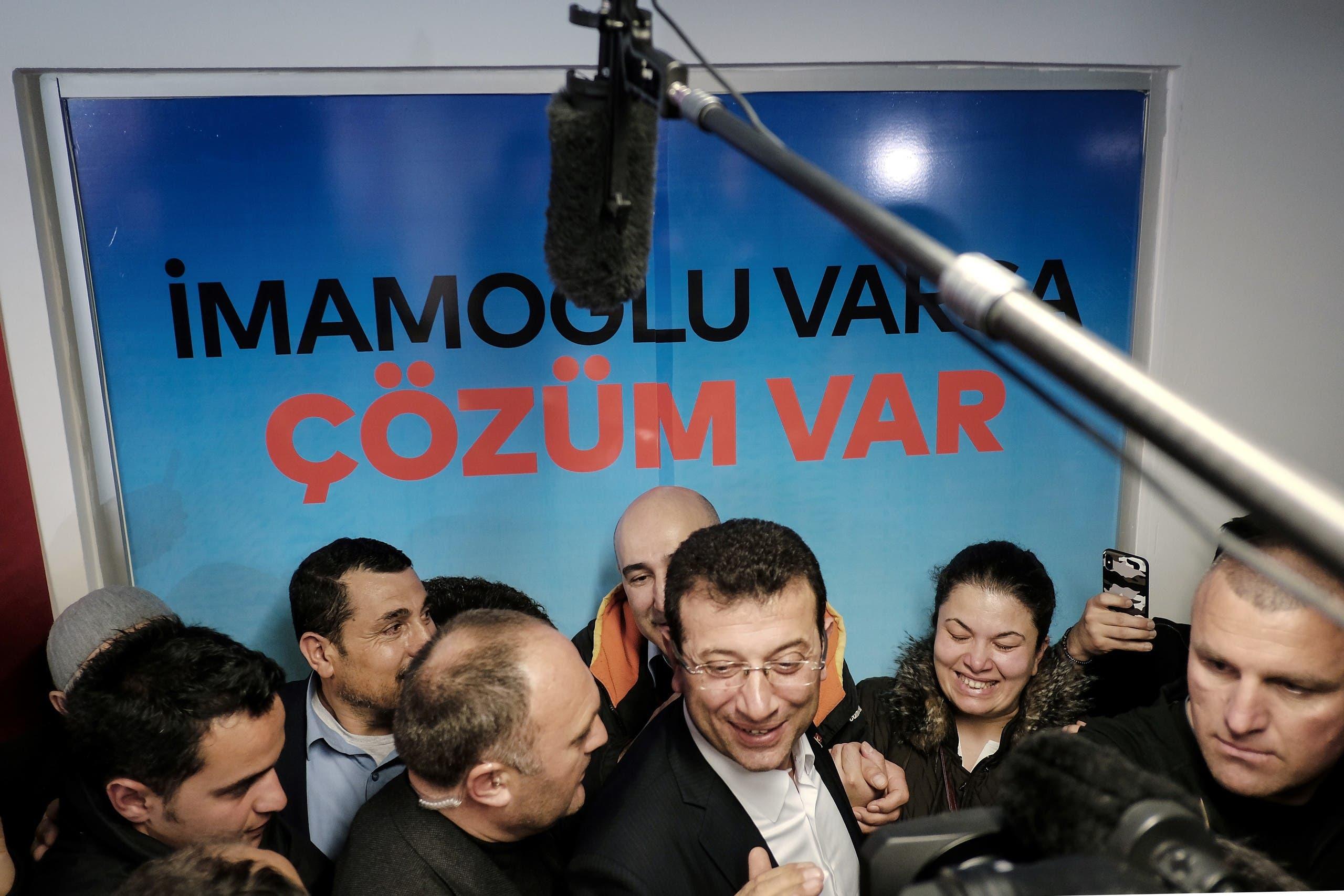 إكرام إمام أوغلو مرشح حزب الشعب الجمهوري الفائز في اسطنبول