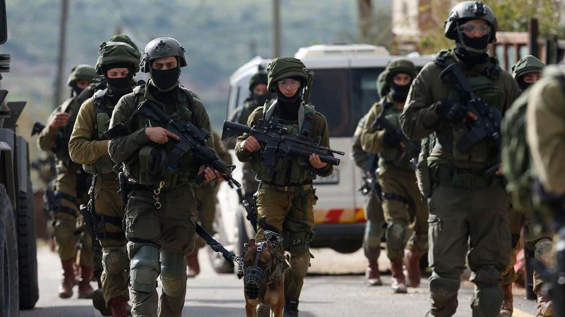 Israeli forces. (AP)