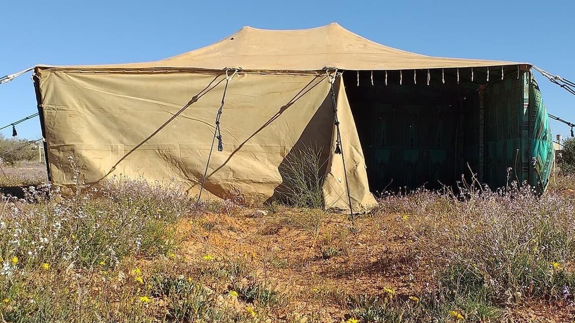خيمة القذافي 1