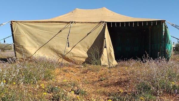 فيها استقبل زعماء العالم.. خيمة القذافي للبيع