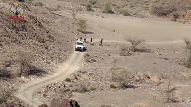 التحالف يدمر تعزيزات للحوثيين شمال الضالع ولحج