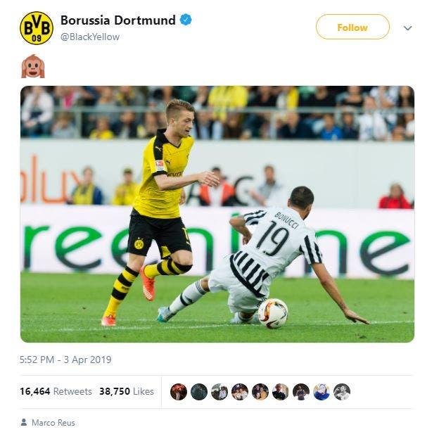 تغريدة دورتموند