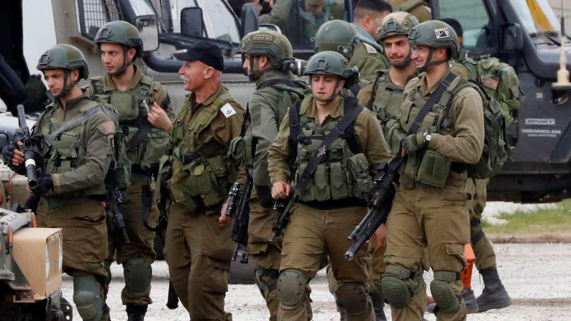 israeli soldiers afp