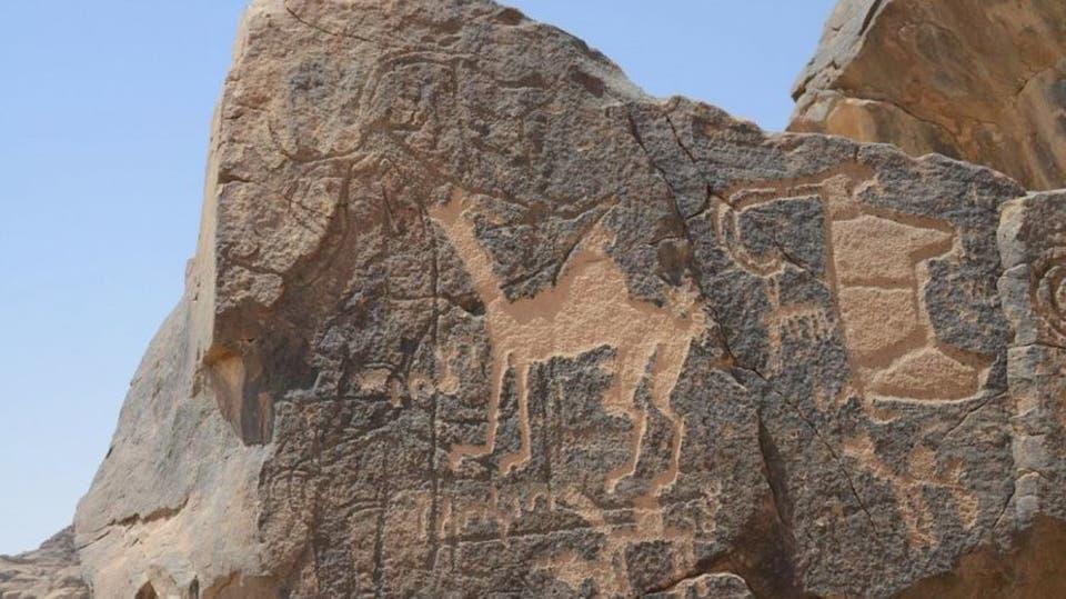 النقوش الأثرية في حائل