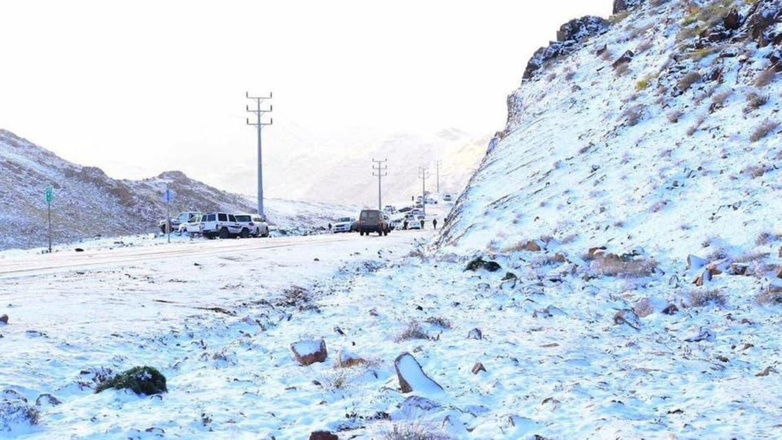 snow in KSA