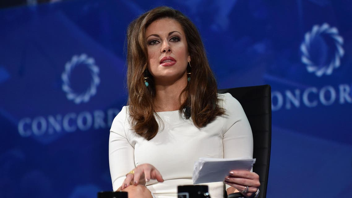 Morgan Ortagus speaks at the Concordia Summit in New York on September 19, 2016. (AFP)