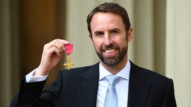 ساوثغيت ينال وسام الإمبراطورية البريطانية