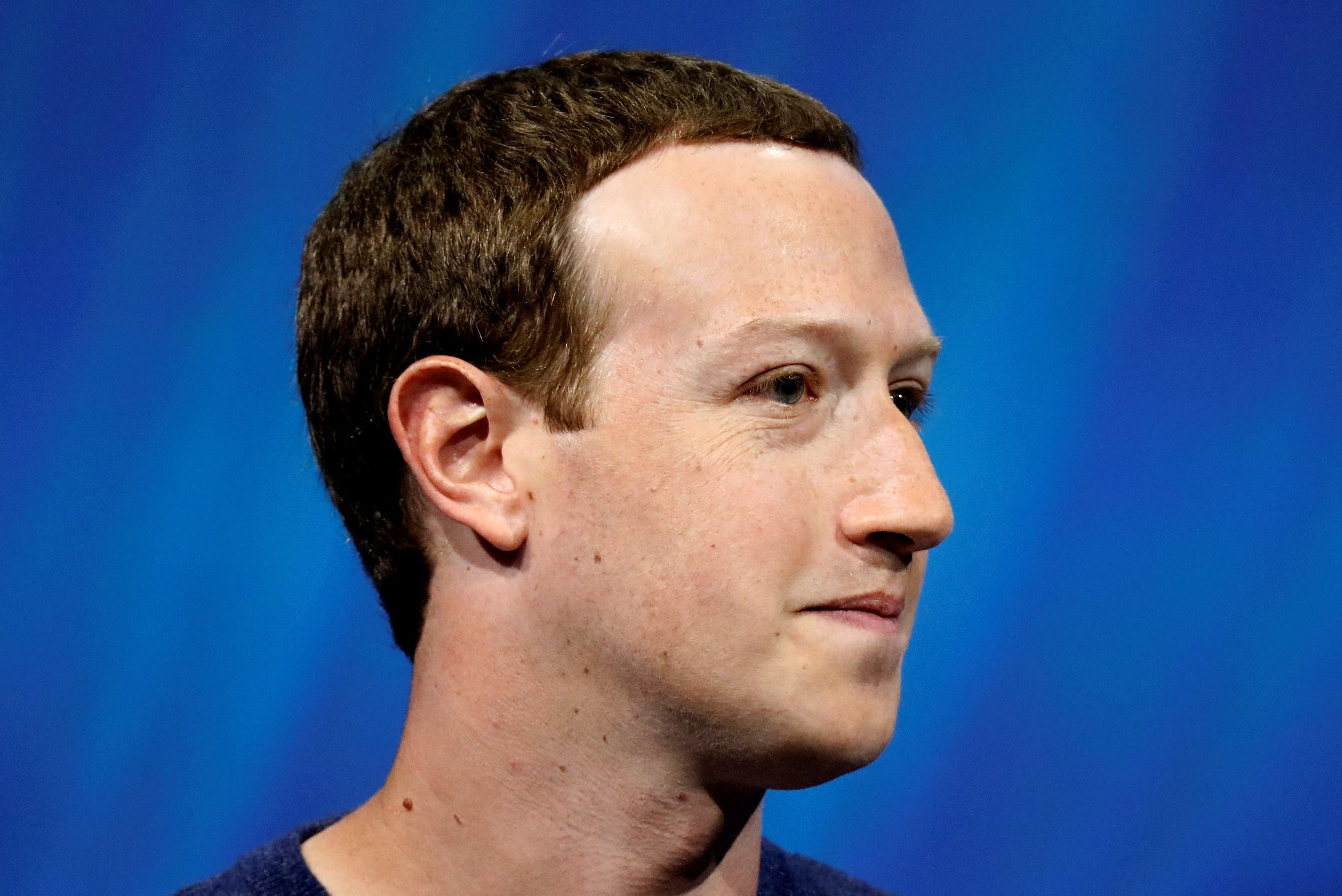 Facebook's Mark Zuckerberg (pictured) and his wife Priscilla Chan made the fourth-largest donation. (File photo: Reuters)