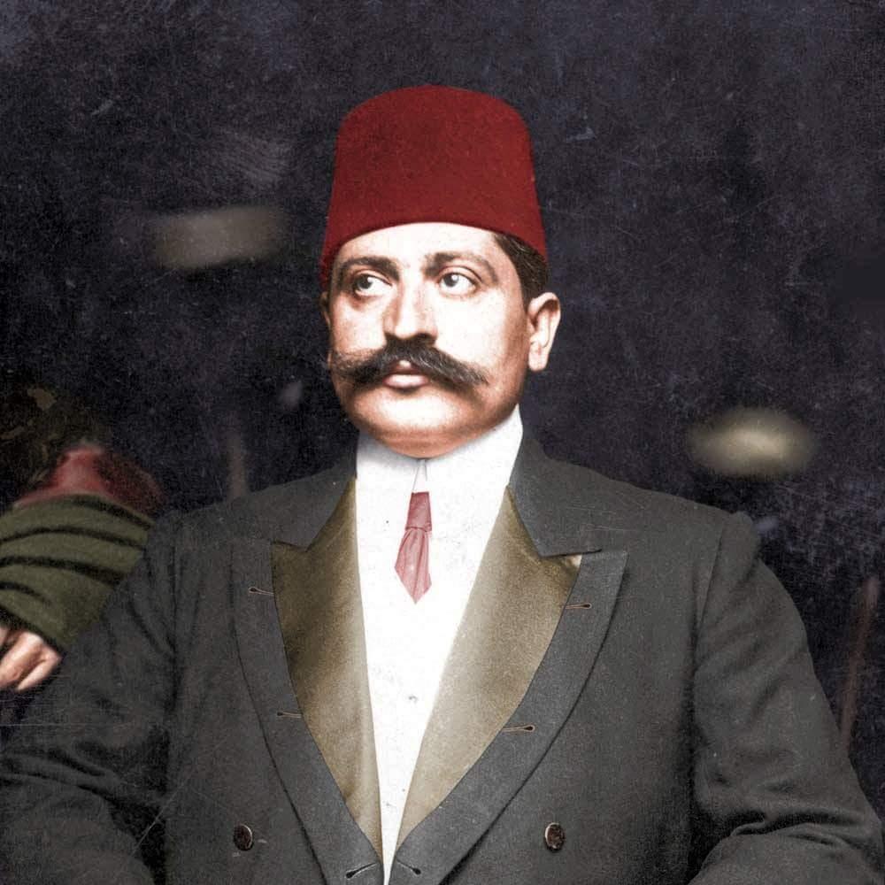 صورة ملونة اعتمادا على التقنيات الحديثة لطلعت باشا