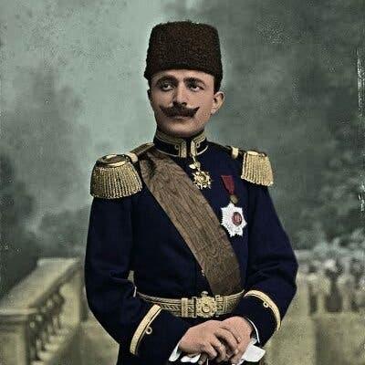 صورة ملونة اعتمادا على التقنيات الحديثة لأنور باشا