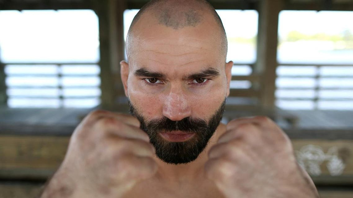 Former UFC fighter Artem Lobov poses for a photograph ahead of his debut for the Bare Knuckle Fighting Championship in Biloxi, Mississippi, US, on April 3, 2019. (Reuters)