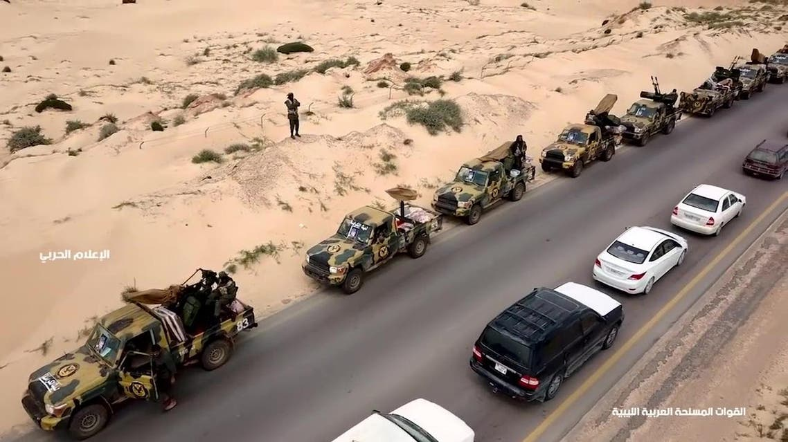 The advances by the Benghazi-based eastern forces has marked a dramatic escalation of the power struggle in Libya. (AFP)