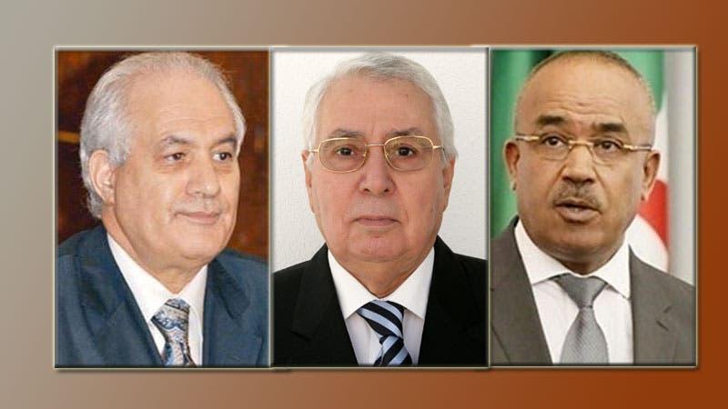 عبد القادر بن صالح،  الطيب بلعيز و نور الدين بدوی