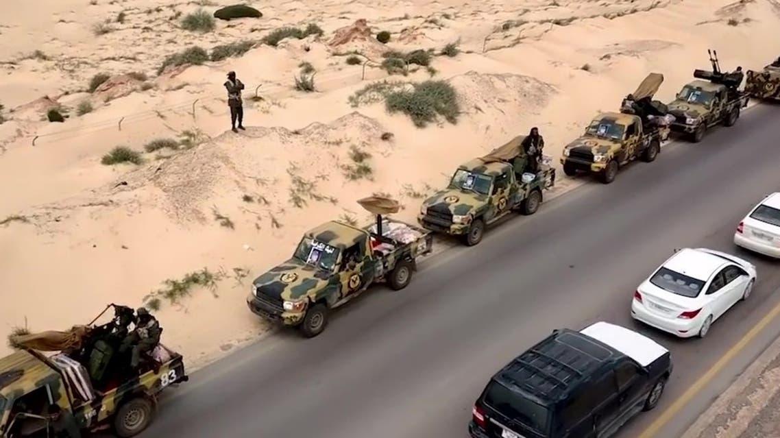 الجيش الليبي يتجه نحو طرابلس