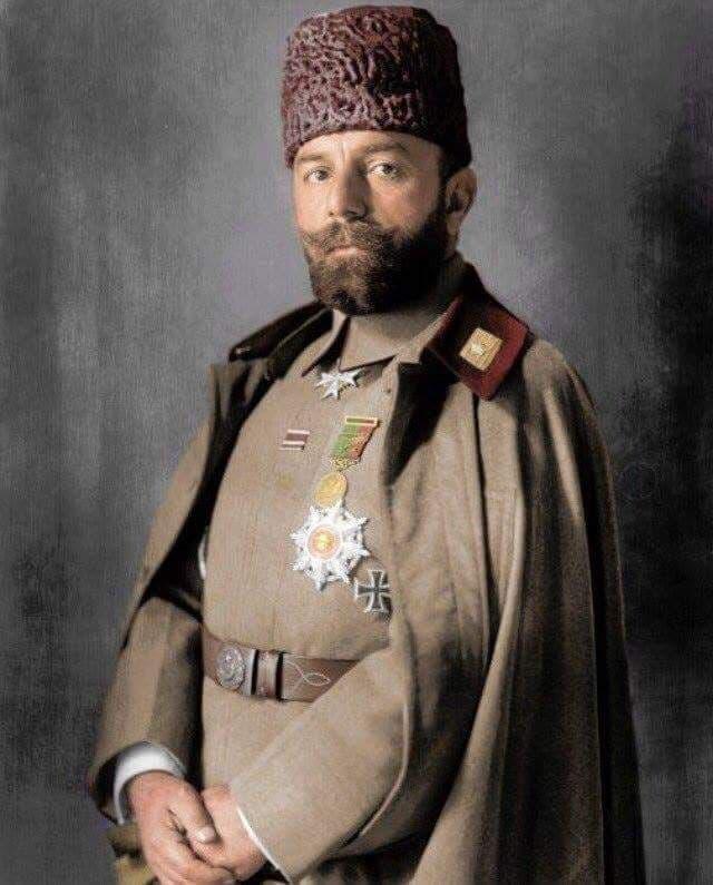 صورة ملونة اعتمادا على التقنيات الحديثة لجمال باشا