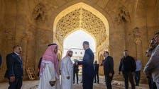 سعودی وزیر ثقافت کا بغداد کے تاریخی مقامات کا دورہ