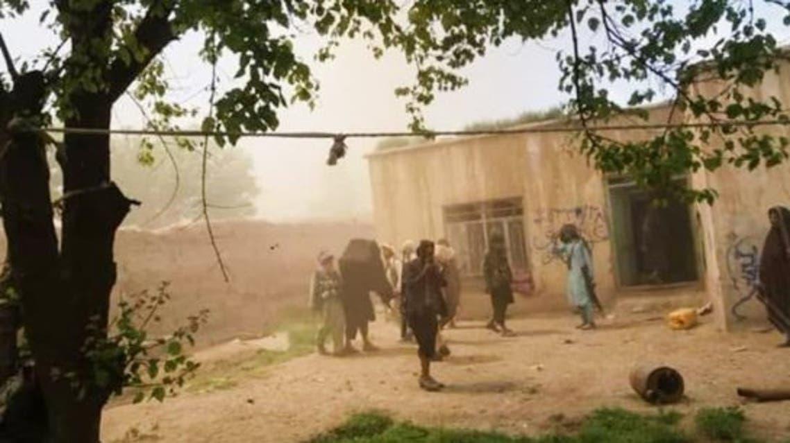 فرماندهی پولیس ولسوالی بالامرغاب به دست طالبان سقوط کرد