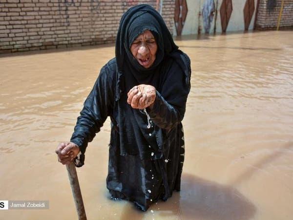 الفيضانات تغمر 9 مدن بالأحواز.. واتهامات للحرس بالتواطؤ