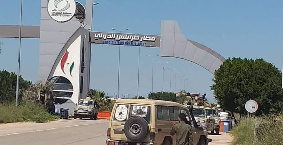 الجيش الوطني الليبي سيطر على مطار طرابلس