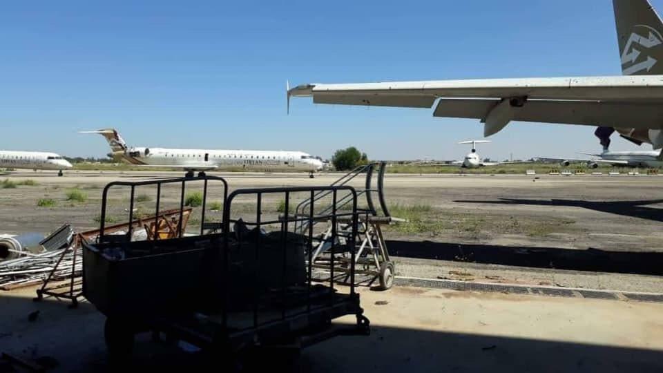 المطار في قبضة الجيش الوطني الليبي