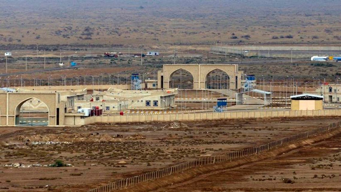 This Feb. 3, 2010 photo shows a general view of the al-Sheeb land crossing on the border with Iran in Maysan province, south of Baghdad, Iraq. (AP)