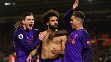 Salah ends goal drought, helps Liverpool back to top of EPL
