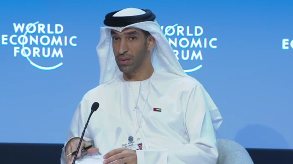 Thani Ahmed al-Zeyoudi, the Minister of Climate Change and Environment for the United Arab Emirates (Screengrab)