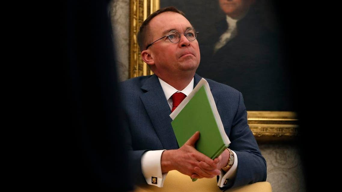 White House chief of staff Mick Mulvaney. (AP)