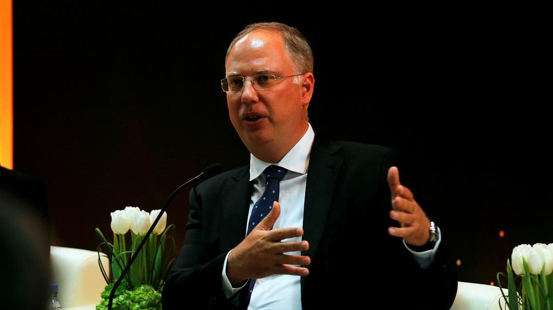 Kirill Dmitriev speaks to media during a news conference. (File photo: Reuters)