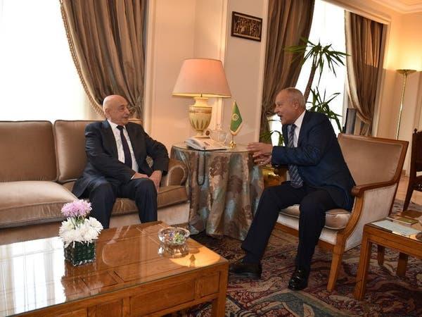 أبو الغيط يلتقي صالح لبحث آخر مستجدات الساحة الليبية