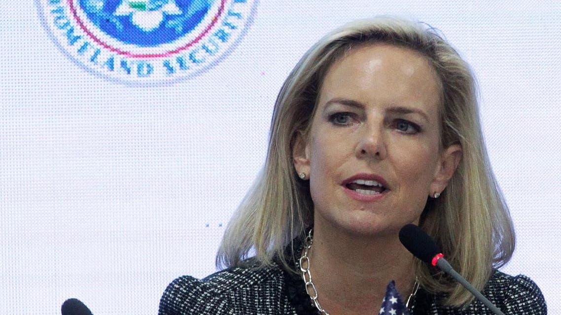 A file photo of US Secretary of Homeland Security Kirstjen Nielsen. (Reuters)