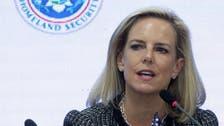 Trump: US Homeland Security Secretary leaving her position