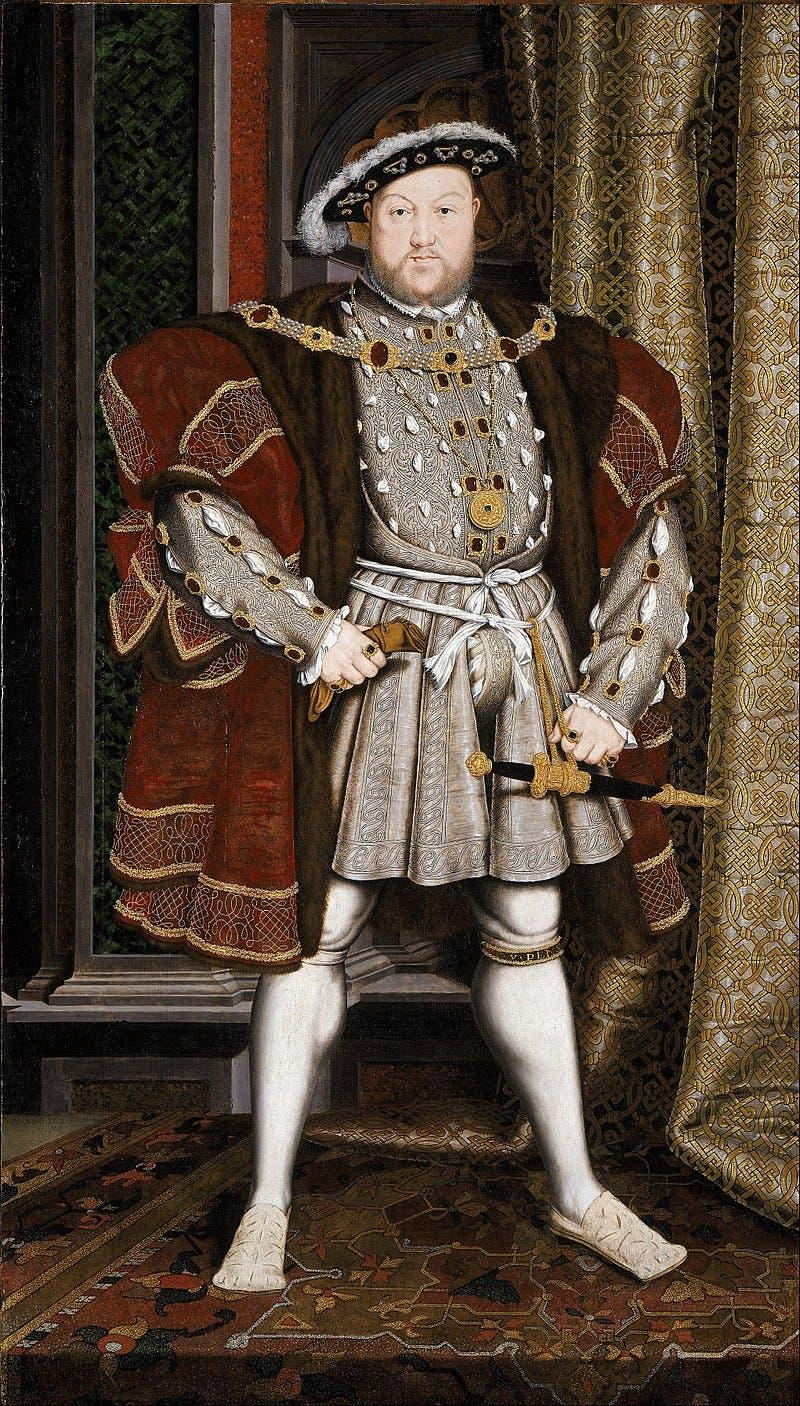 الملك الإنجليزي هنري الثامن