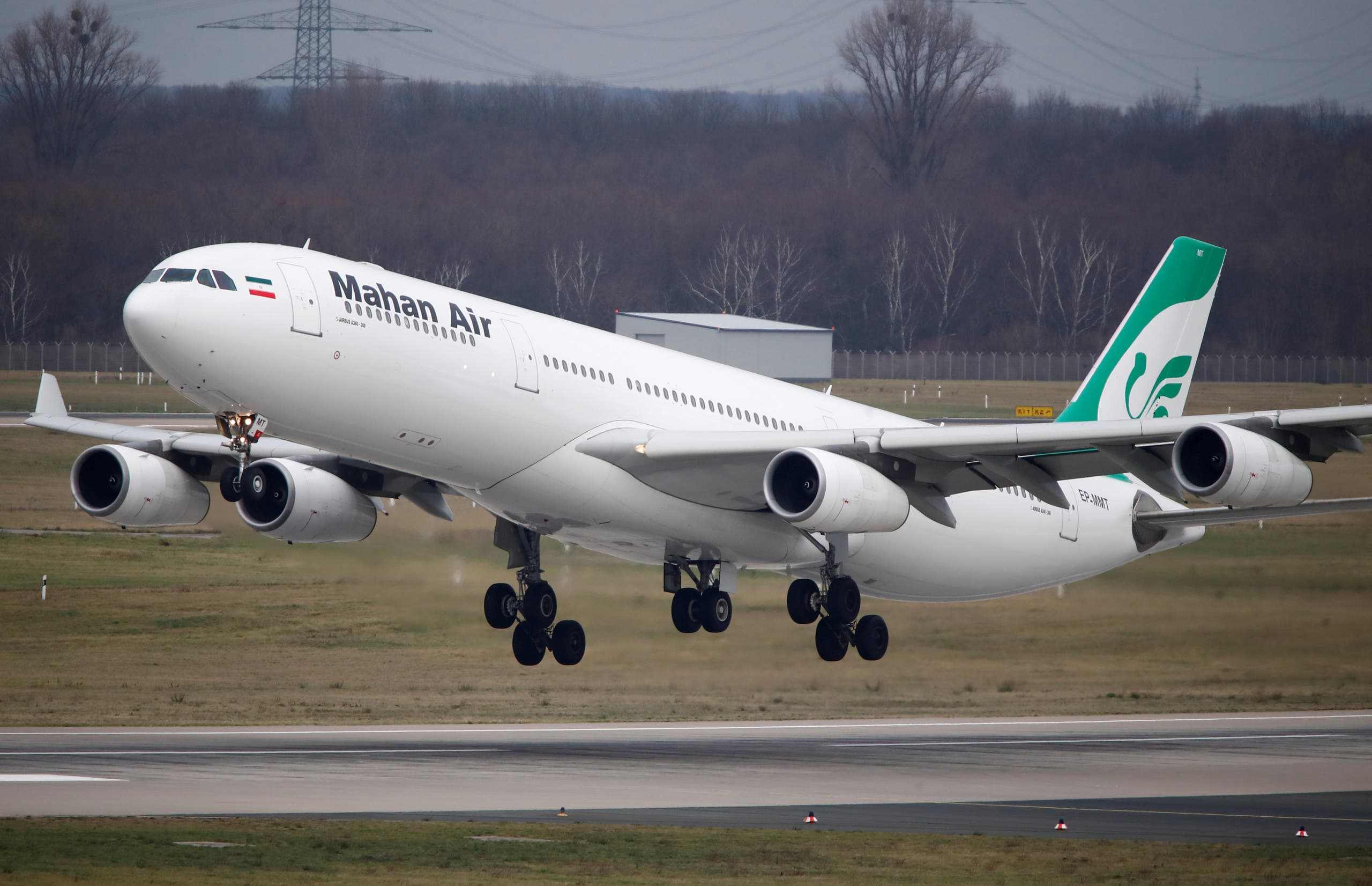 An Airbus A340-300 of Iranian airline Mahan Air takes off from Duesseldorf airport DUS, Germany January 16, 2019. Picture taken January 16, 2019. (File photo: Reuters)