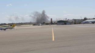تعليق الرحلات بمطار معيتيقة في ليبيا حتى إشعار آخر