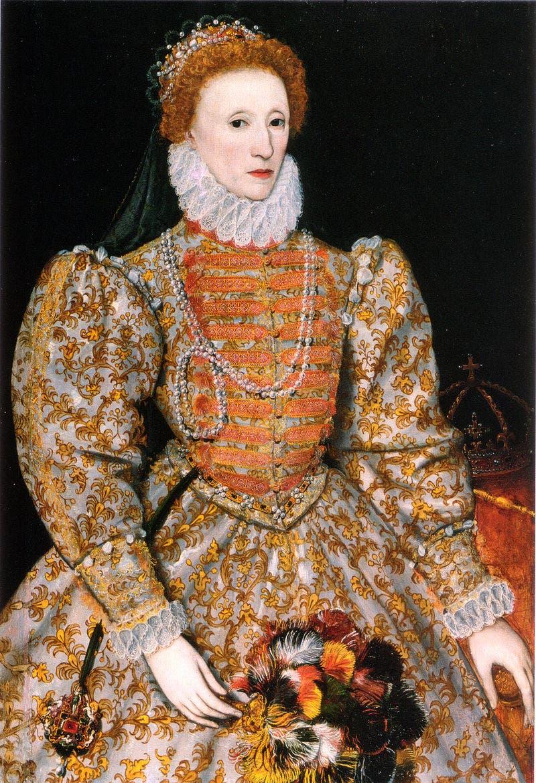 ملكة إنجلترا إليزابيث الأولى