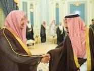 خادم الحرمين يستقبل رئيس وأعضاء مجلس الشورى