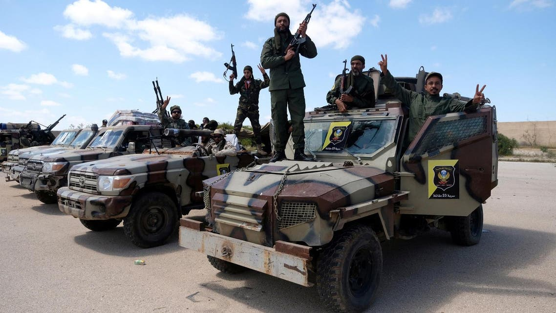 Libya clashes Reuters